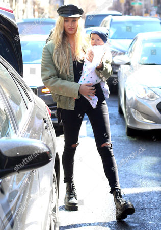 Editorial picture of Candice Swanepoel out and about, New York, USA - 17 Mar 2017