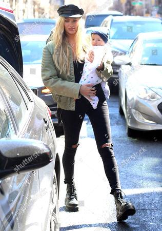Stock Picture of Candice Swanepoel, Anaca Nicoli