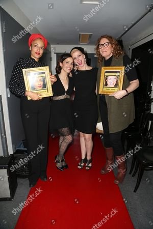 Zadie Smith, Catie Lazarus, Judy Gold