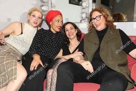Lady Rizo, Zadie Smith, Catie Lazarus, Judy Gold