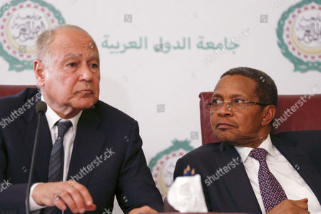 Jakaya Kikwete and Ahmed Aboul Gheit