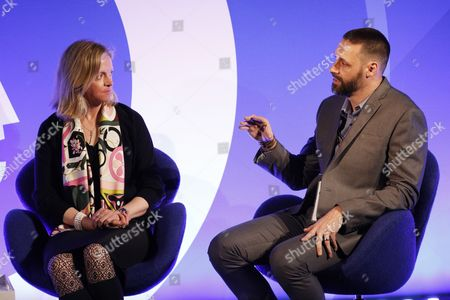 Julie Bernard (Chief Marketing Officer, Verve) and Henk Van Niekerk (Head of International Publisher Services, AOL)