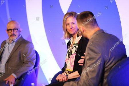 Jeffrey Hirsch (CMO, Pubmatic), Julie Bernard (Chief Marketing Officer, Verve) and Henk Van Niekerk (Head of International Publisher Services, AOL)