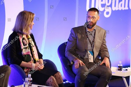 Editorial image of No Header, No Problem? Managing Mobile Programmatically seminar, Advertising Week Europe 2017, Fast Company Stage, Picturehouse Central, London, UK - 20 Mar 2017