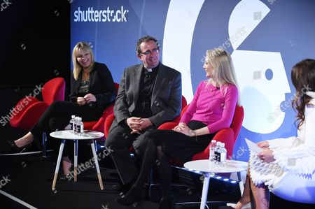 Kate Thornton (Founder and Editor-in-Chief, TB Seen), Reverend Richard Coles (Vicar of Finedon, The Church of England), Anna Jones (Co-Founder, Allbright), Kathleen Saxton (Founder, The Lighthouse Company and Psyched)