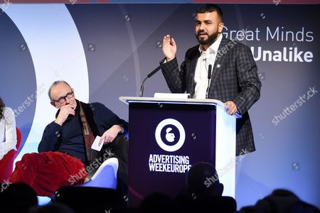 Oliver James (Clinical Psychologist, Author and Broadcaster) and Hussain Manawer (Poet, Campaigner, Future Astronaut, Hussain's House)
