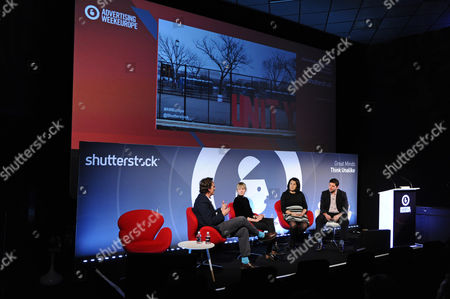 Editorial photo of Visual Brand Responsibility In An Increasingly Xenophobic World seminar, Advertising Week Europe 2017, Shutterstock Stage, Picturehouse Central, London, UK - 20 Mar 2017