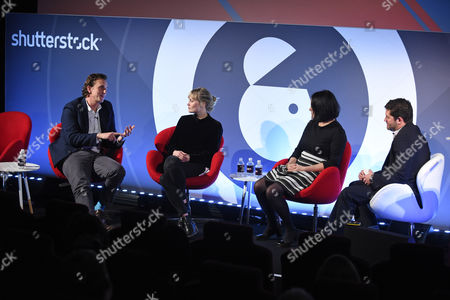 Editorial picture of Visual Brand Responsibility In An Increasingly Xenophobic World seminar, Advertising Week Europe 2017, Shutterstock Stage, Picturehouse Central, London, UK - 20 Mar 2017