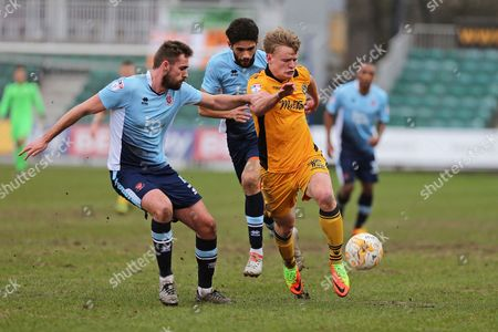 Editorial image of Newport County v Blackpool, EFL Sky Bet League 2 - 18 Mar 2017