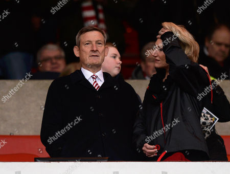Ellis Short owner of Sunderland in the stands during the Premier League match between Sunderland and Burnley played at the Stadium of Light, Sunderland on 18th March 2017