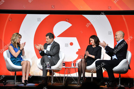 Nicola Mendelsohn CBE (VP EMEA, Facebook), Josh Berger CBE (President and Managing Director, Warner Bros. UK, Ireland and Spain), Carolyn Fairbairn (Director General, CBI)and Riccardo Zacconi (CEO, King)