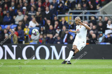 Younes Kaboul of Watford in action