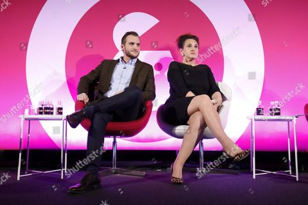 Daniel Dove (UK Zacapa Brand Ambassador, Diageo) and Grace Dent (Food Critic and Creative Director, London Evening Standard Food Month)