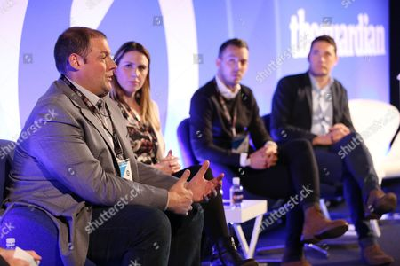 Jeff Misenti (Managing Director of Audience, Insight and Development, News UK), Celine Saturnino (Chief Commercial Officer, Total Media), Yves Schwarzbart (Head of Policy and Regulatory Affairs, The Internet Advertising Bureau) and Alistair Maccallum (CEO, m/Six)