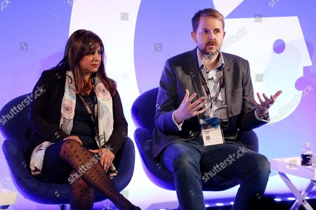 Sandy Ghuman (Campaign Planning and Delivery Manager, Sky) and Richard Lloyd (EMEA Chief Digital Officer, Maxus)