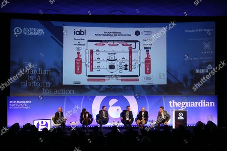 Editorial picture of Is Data Everything? seminar, Advertising Week Europe 2017, The Guardian Stage, Picturehouse Central, London, UK - 21 Mar 2017