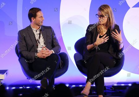 Stock Picture of Ryan Rummery (Head of DAX, Digital and Mobile, Global) , Alison Moore (Chief Revenue Officer)