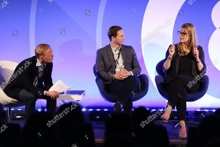 Stock Image of Steve Wing (Managing Director UK & Nordics, Rubicon Projects), Ryan Rummery (Head of DAX, Digital and Mobile, Global) , Alison Moore (Chief Revenue Officer)