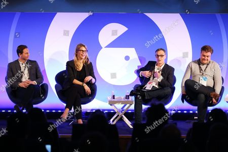 Editorial picture of Automated Audio: Safe and Sound seminar, Advertising Week Europe 2017, The Guardian Stage, Picturehouse Central, London, UK - 21 Mar 2017