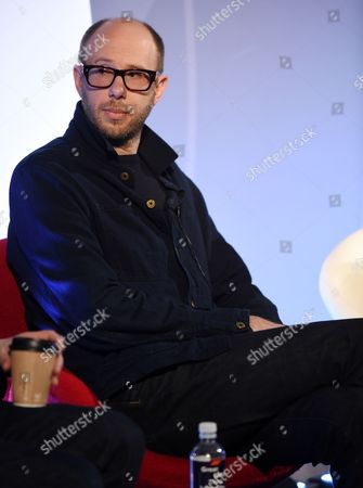Tom Rowlands (Musician) speaking at an NME event at Advertising Week Europe