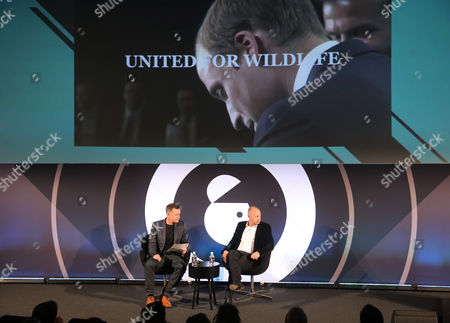 Danny Rogers (Author Campaigns that Shook the World, Editor in Chief, PRWeek) and Matthew Freud (Founder & Chairman, freuds)