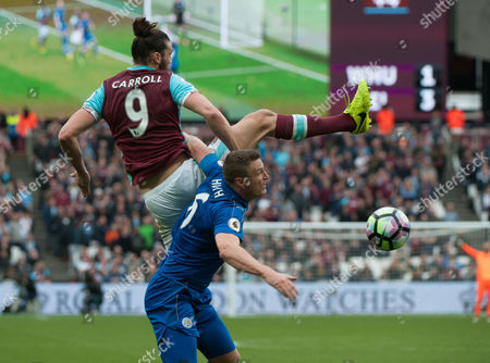 Editorial photo of English Premier League West Ham v Leicester City. London Stadium, London,  Britain 18th March 2017.