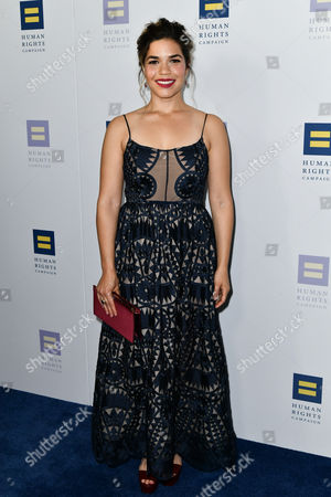 Editorial picture of The Human Rights Campaign Gala Dinner, Arrivals, Los Angeles, USA - 18 Mar 2017