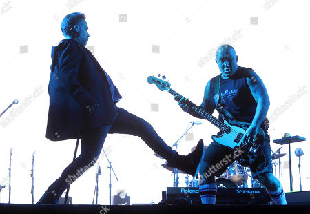 Vicentico, Flavio Cianciarulo Vicentico, left and Flavio Cianciarulo, right, perform at the 18th edition of the Vive Latino music festival in Mexico City, . The Vive Latino Festival has become Latin America's biggest Latin rock celebration