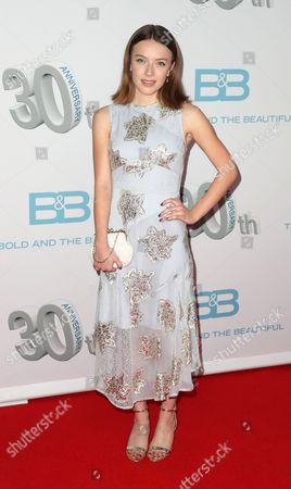 Editorial photo of 'The Bold and the Beautiful' 30th Anniversary event, Arrivals, Los Angeles, USA - 18 Mar 2017