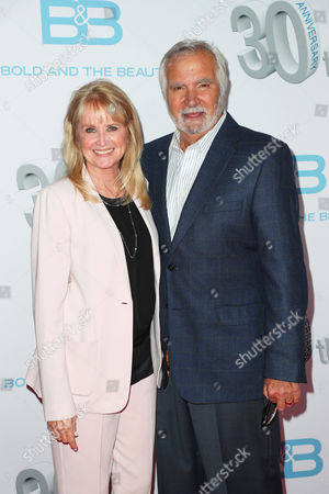 Stock Picture of John McCook and Laurette Spang-McCook