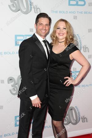 Scott Bailey and Adrienne Frantz