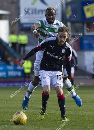 Editorial picture of Football - Ladbrokes Scottish Premiership 2016/17 Dundee v Celtic - 19/3/2017 Dens Park Stadium, Dundee, United Kingdom - 19 Mar 2017