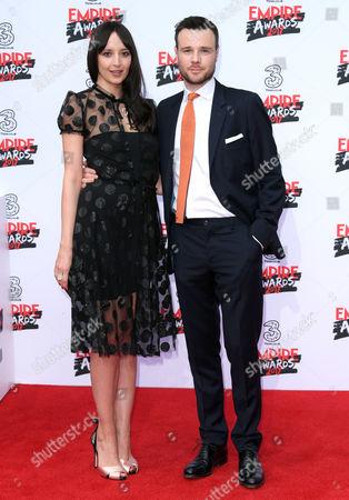 Rupert Evans and Olivia Bennet