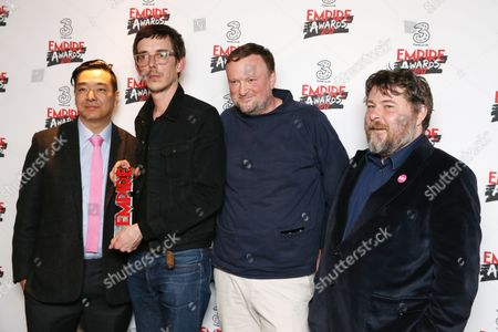 Stock Image of Andy Hung, Jim Hosking, Ben Wheatley, Andy Starke - Best Comedy (The Greasy Strangler)