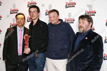 Editorial image of Three Empire Awards, Press Room, Roundhouse, London, UK - 19 Mar 2017