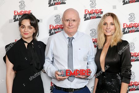 Hayley Squires and Dave Johns - Best Male Newcomer (I, Daniel Blake) and Joanne Froggatt