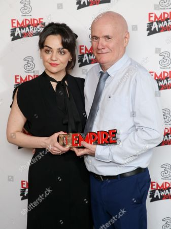 Hayley Squires and Dave Johns - Best Male Newcomer (I, Daniel Blake)