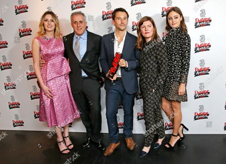Editorial picture of Three Empire Awards, Press Room, Roundhouse, London, UK - 19 Mar 2017