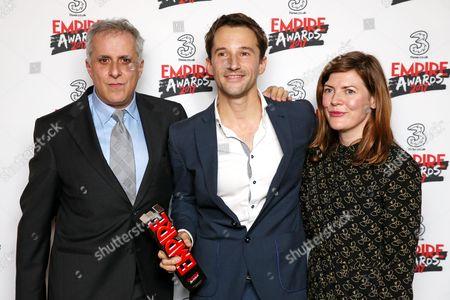 Editorial photo of Three Empire Awards, Press Room, Roundhouse, London, UK - 19 Mar 2017