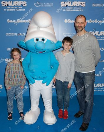 Evie Frith, Danny Frith, Mark Frith and Smurf