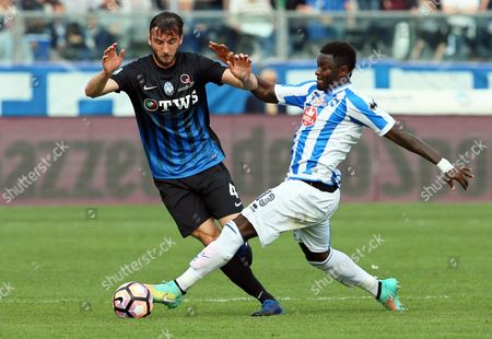 Editorial image of Atalanta Bergamo vs Pescara Calcio, Italy - 19 Mar 2017