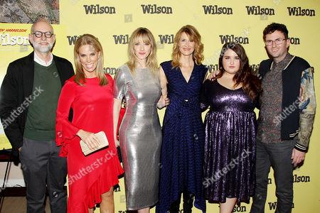 Stock Image of Daniel Clowes, Cheryl Hines, Laura Dern, Judy Greer, Isabella Amara and Craig Johnson