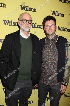 Stock Photo of Daniel Clowes and Craig Johnson