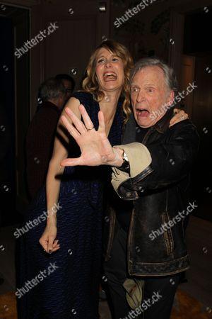 Laura Dern and Dick Cavett