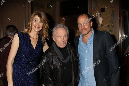 Laura Dern, Dick Cavett and Woody Harrelson