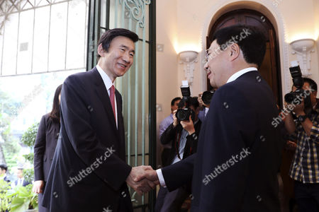 Yun Byung-se and Pham Binh Minh