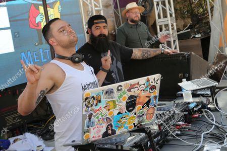 Editorial image of DJ Jamie Iovine At Rehab, Las Vegas, USA - 19 Mar 2017