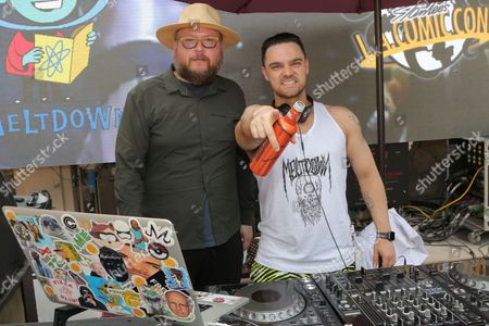 DJ Jamie Iovine (R)