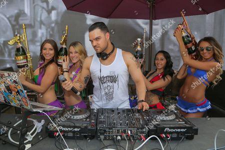 Editorial photo of DJ Jamie Iovine At Rehab, Las Vegas, USA - 19 Mar 2017