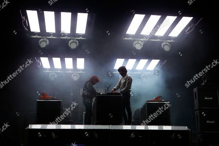 Gaspard Auge, Xavier de Rosnay Gaspard Auge, left, and Xavier de Rosnay of the French electronic music duo Justice perform at Vive Latino in Mexico City, just after midnight on . The Vive Latino Festival has become Latin America's biggest Latin rock celebration